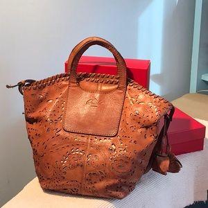 PATRICIA NASH GUC leather bag